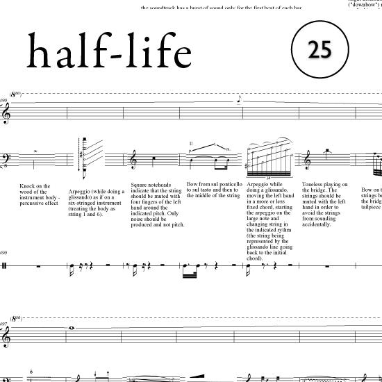 half-life 25