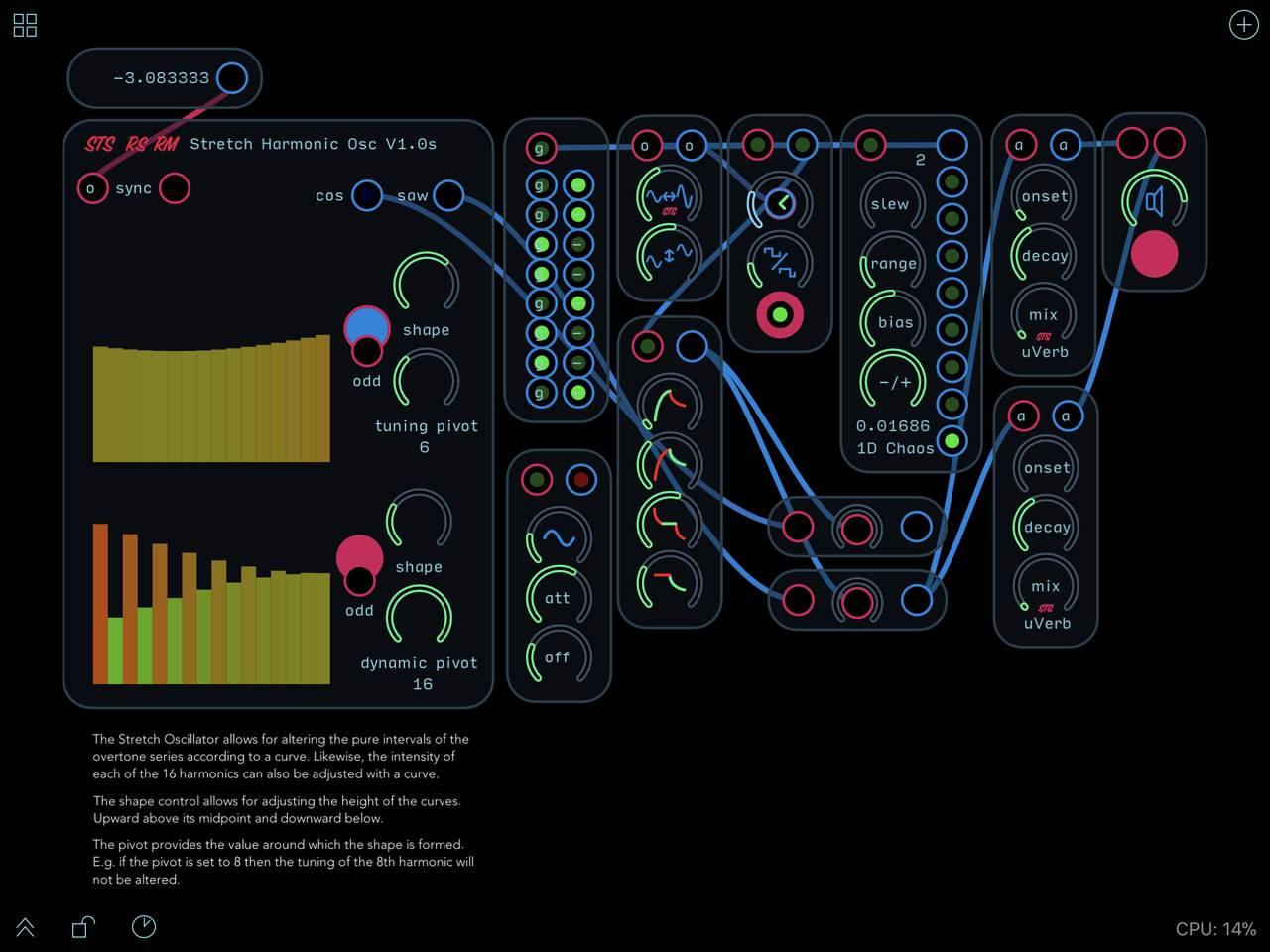 stretch-oscillator
