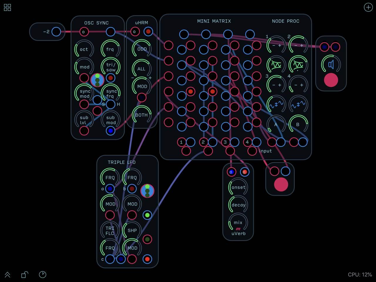 mini-matrix-node-proc
